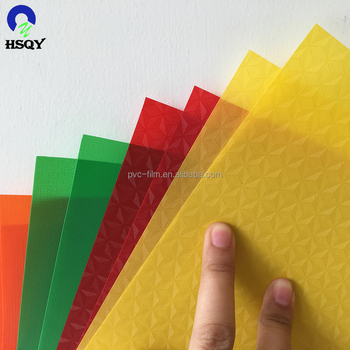 PVC Film Opaque Colored With Embossing
