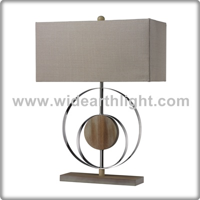 UL CUL Listed Modern Design Hotel Bedroom Table Lamp With Marble Round Decoration T60010