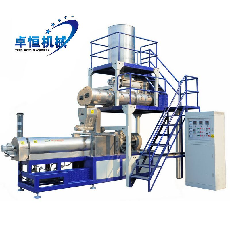 Pellet Floating Fish Feed/Food Extruder/Making Machine/Equipment