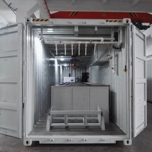 10 tons containerized block ice making machine price
