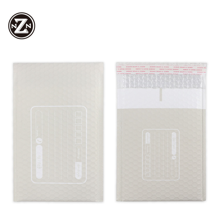 79e1b8d458ca custom printed designs 18x24 pe poly plastic self seal matte bubble mailer  envelope shipping padded packing bag for clothes