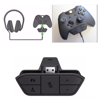 Lqjp For Xbox One Headset Adapter Stereo Headset Headphone Adapter For Xbox  One Controller - Buy For Xbox One Headset Adapter,Headset Adapter For Xbox