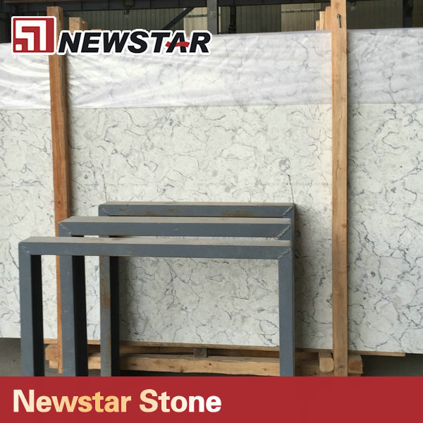 Newstar Natural Stone Type Artificial Quartz Cheap Slab