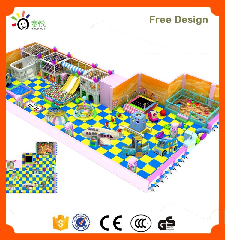 Newest safe indoor playground house entertainment center