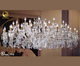 For hotel decorative chandelier light fittings in dubai