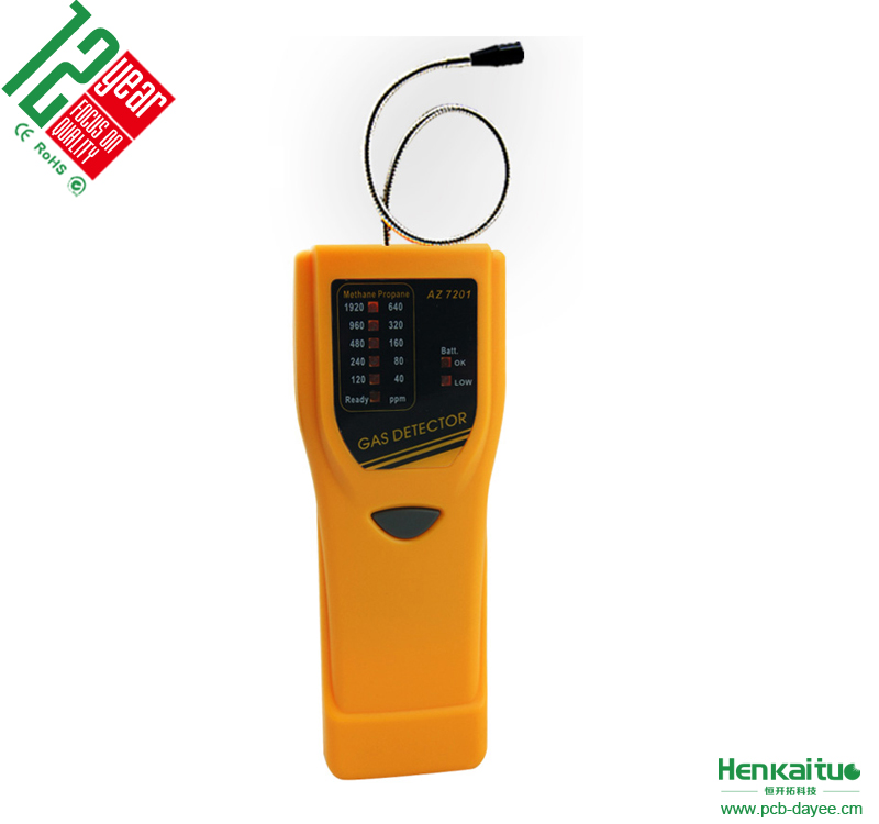 2016 Newest Combustile And Toxic Gas Leak Detector