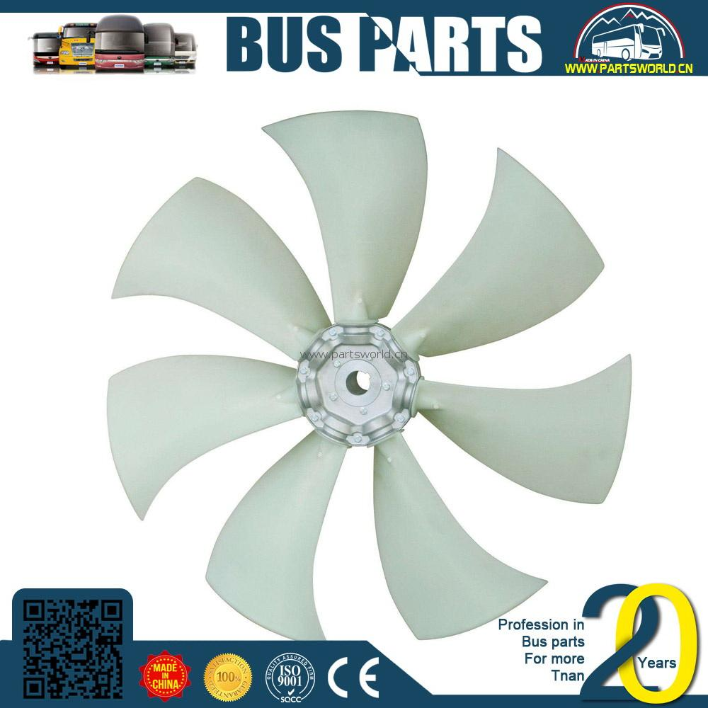 Bouwmachines axiale fans fabrikant in serie ventilator met frame YUTONG,