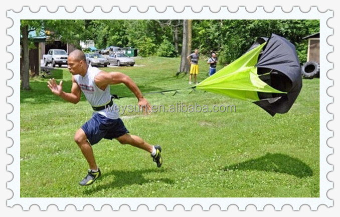 "1pcs Resistance Exercise 56"" Speed Training Parachute Umbrella Running Power Chute"