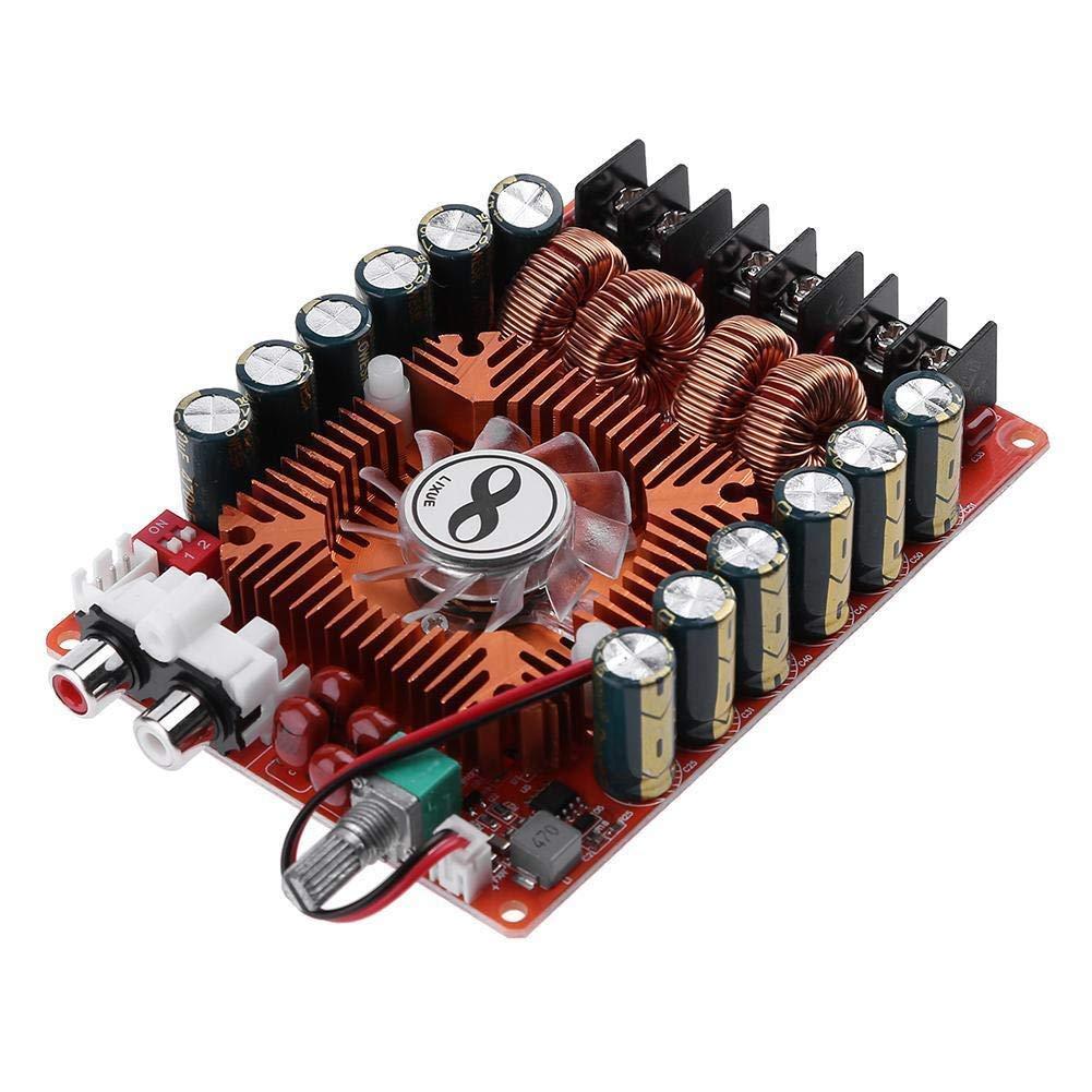 FidgetFidget Amplifier Board TDA7498E Two Channel Stereo Audio Power 160Wx2 108x78mm Module