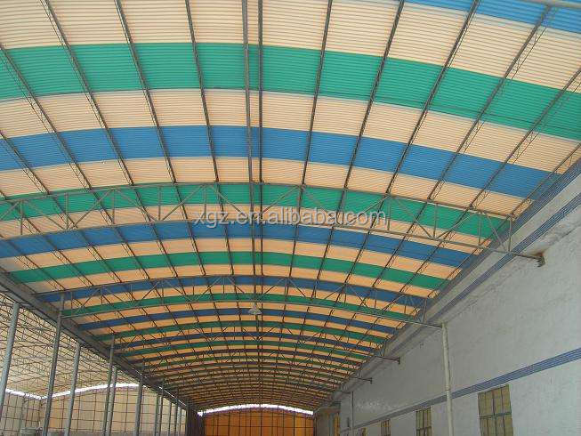 corrugated plate seriescorrugated plate series 760/EPS sandwich panel/rockwool sa/Horizontal loading 780 big bowen metope system
