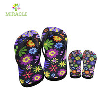 Sublimation rubber indoor slipper