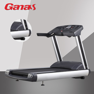 Ganas high quality AC motor 7HP electric treadmill/ac motor motorized treadmill for commercial gym/high speed treadmill