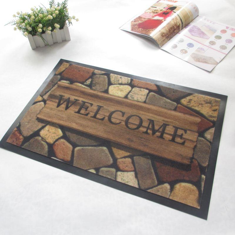 Pe Artificial Plastic Grass Door Mat Roll Pvc Floor Mat