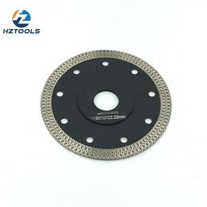 115x1.2x10mm 1.2mm thickness 10mm height turbo diamond saw blade for cutting tile