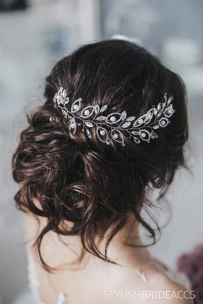 Wedding Crystal Hair Vine, Bridal Hair Crystal Vine, Hair Accessories, Crystal Wedding Hair Vine, Bridal Wedding Crystal Hairpiece