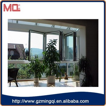 European Style Windows Folding Glass Windows Sliding And