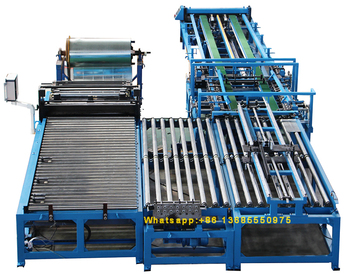 factory supply hvac auto u shape duct line forming machine