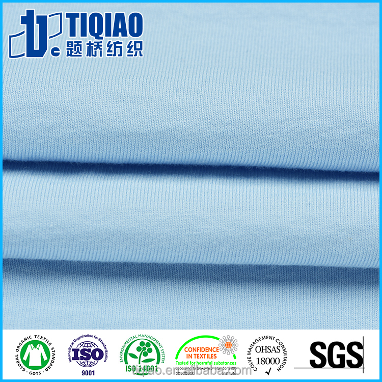100% cotton knit Jersey Fabric for boy's T-shirt&sportswear