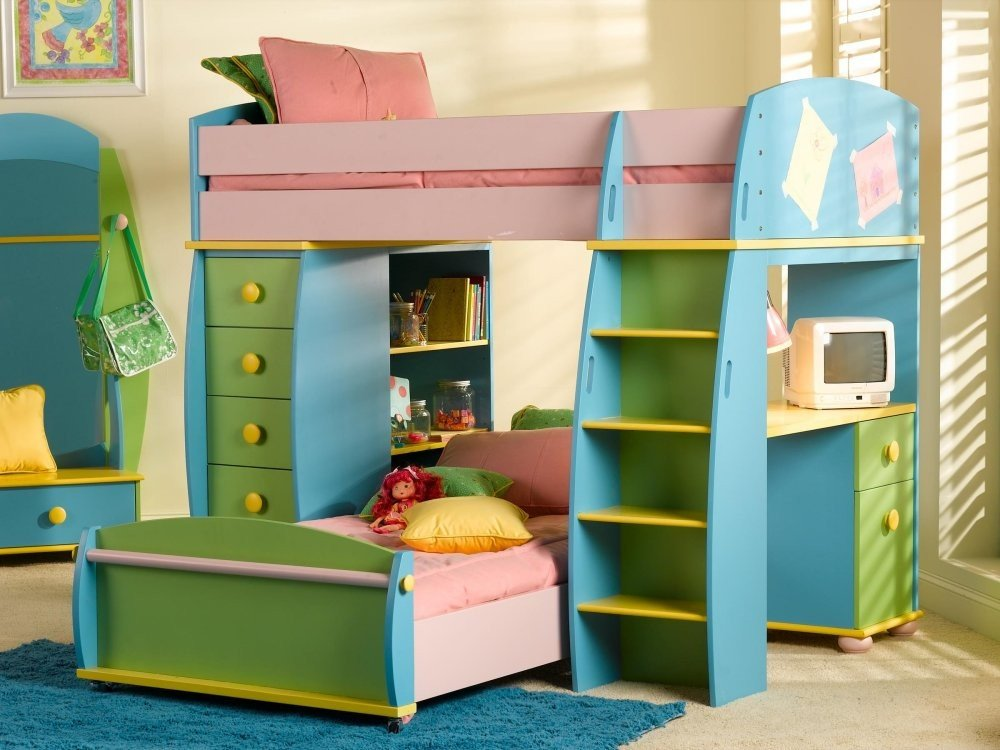Powell Furniture Sunday Funnies Loft Bunk Bed