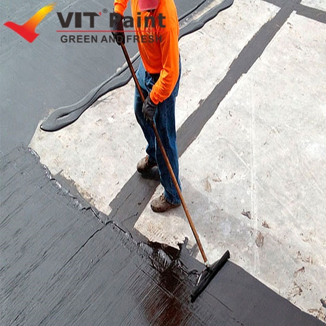 Vit Best Waterproof Paint For Bathrooms Exterior Walls Cement Waterproofing Clear Coating Flexible