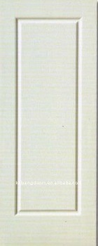 White primed HDF molded door skin