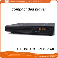 DVD player recorder with 5.1 channel output and vga port