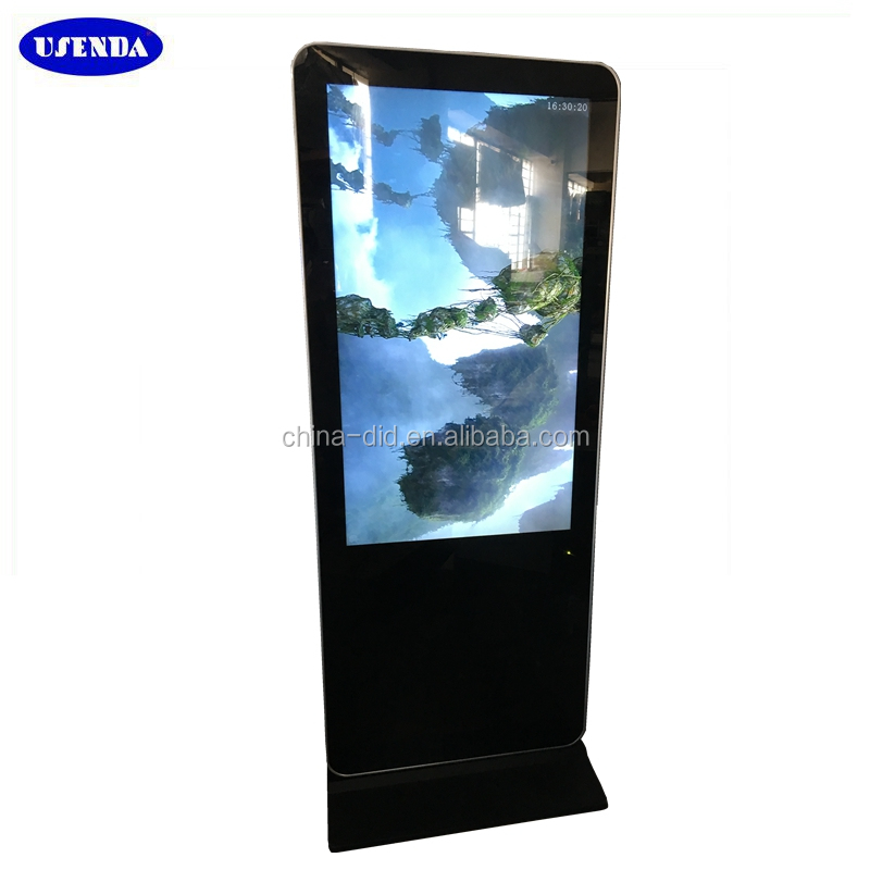 "55"" magic mirror advertising display With 3G Wifi Wireless Network"