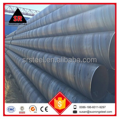 factory direct sale large diameter galvanized steel spiral steel pipe tube