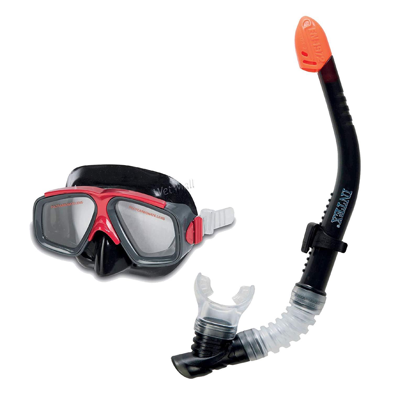 Intex - Surf Rider Adult Swimming/Diving Mask & Snorkel Set