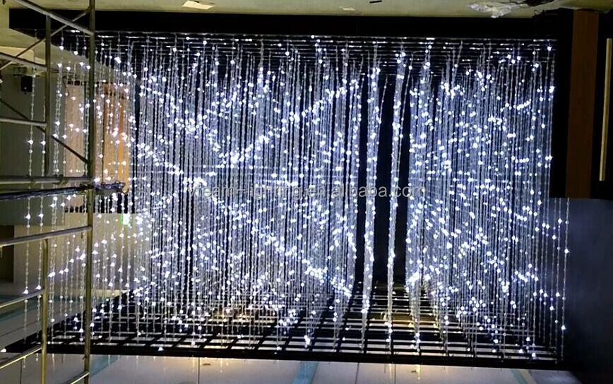 Outdoor Pixel Net Led Lighting Display For Building Led