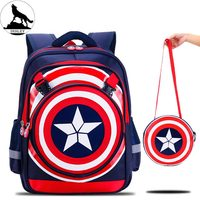 latest nice fashionable teens backpack Waterproof nylon school bag for boys