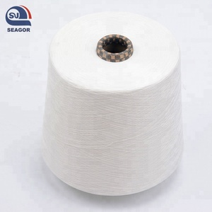 polyester viscose color spun yarn for kining and weaving