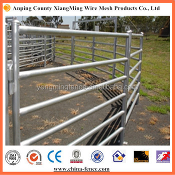 Used Corral Livestock Metal Fence Panels For Ranch And