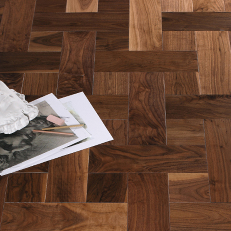 Fudeli Wholesale Art Okan Oak Wood Parquet Flooring Pattern Tile