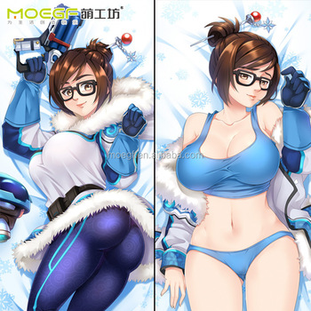 180X60cm Popular Game OW Mei Woman Pillow Case New Style Dakimakura