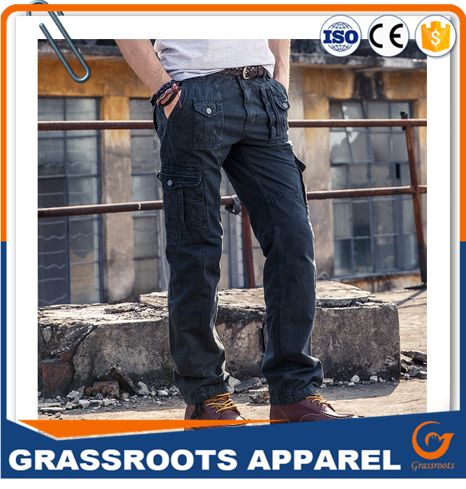 HOT SALE workwear technic pant,workers overall uniforms security workwear men's pants with pockets on the sides