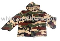 military army camo M65 jacket with horse-cuff style