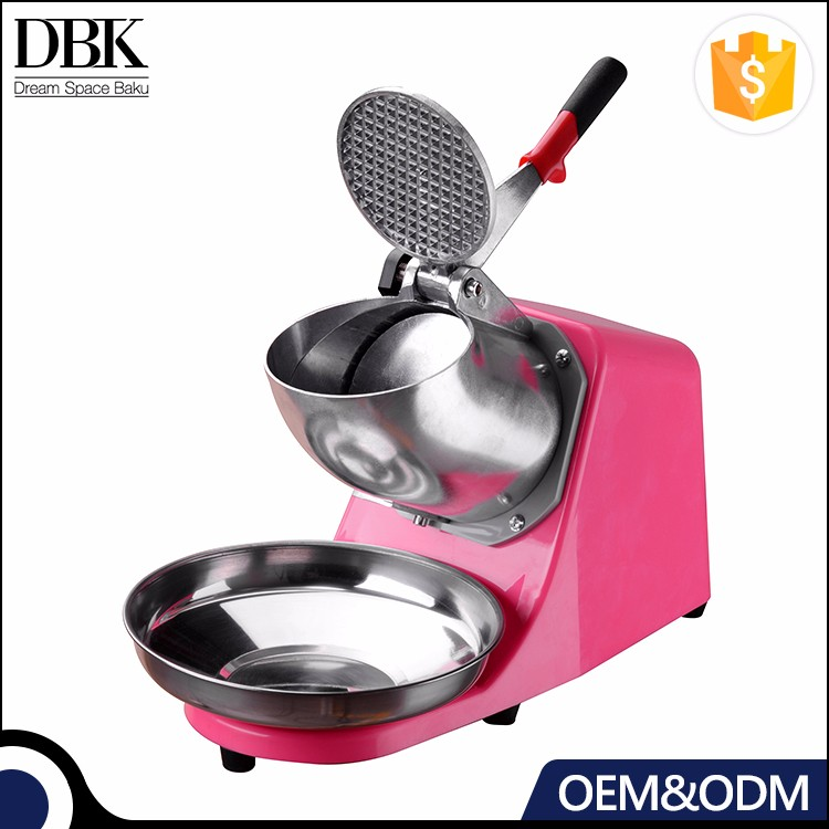 OEM ODM DBK Wholesale Commercial Portable Stainless Steel ice crusher electric