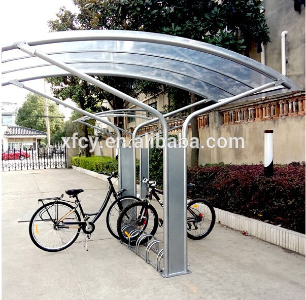 Outdoor Galvanized Bicycle Garage Shelter Canopy(iso Approved) - Buy Bicycle Garage Shelter CanopyBicycle Shelter CanopyOutdoor Bicycle Canopy Product on ... & Outdoor Galvanized Bicycle Garage Shelter Canopy(iso Approved ...