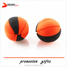 hot selling basketball shaped cute pencil eraser