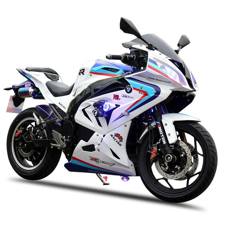دراجة نارية كهربائية قوية بعجلتين بقوة 8000 واط للطرق الوعرة