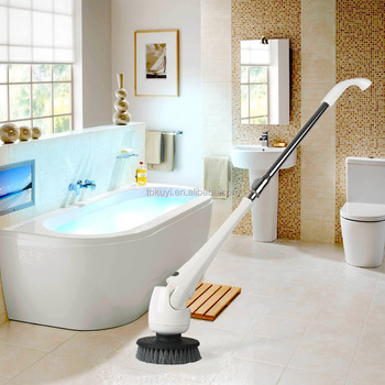 Bathroom Cleaner Electric Cleaning Brush Scrubber