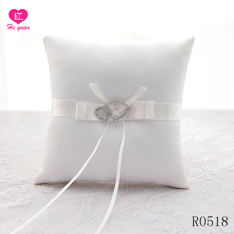 R0518 The New Wedding Ring Pillow Design Your Own White Buy