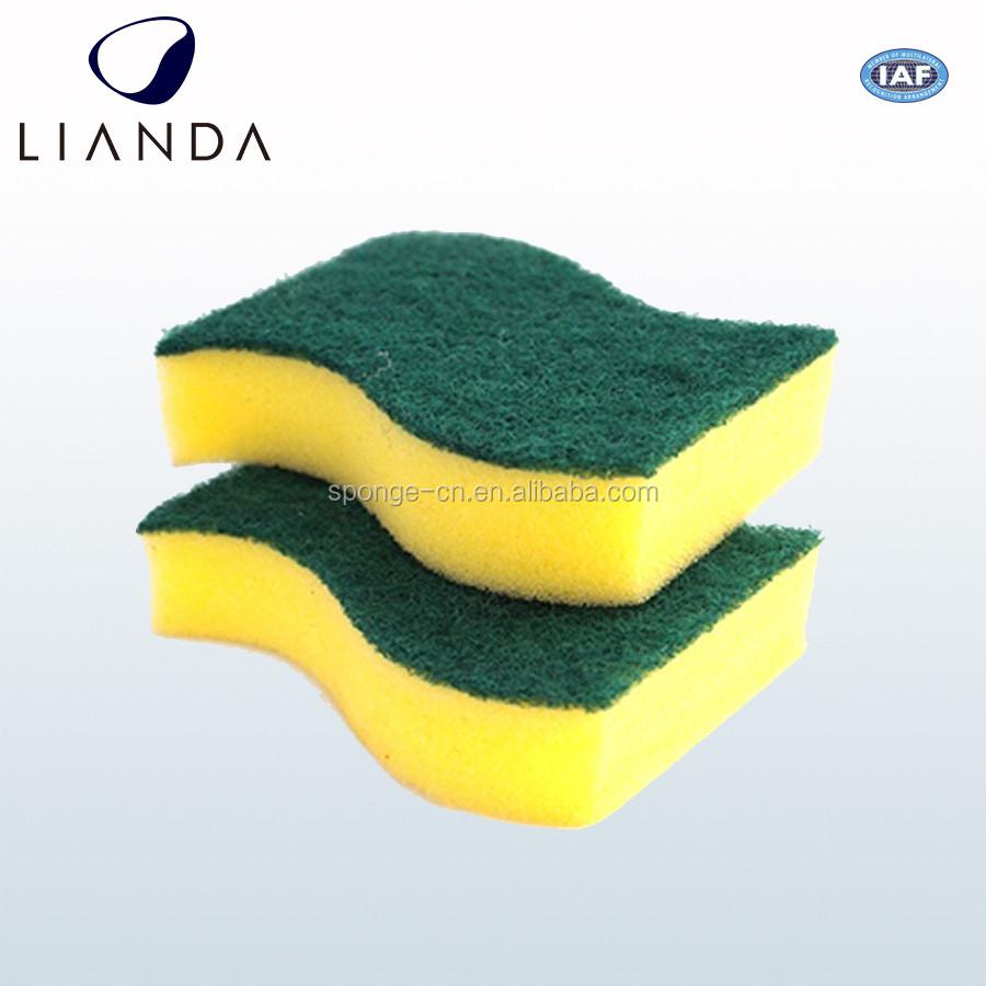 China Supplier Kitchen Washing Dish Sponge Scouring Pad Types Of ...