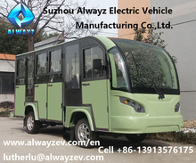 Shuttle bus, 14 seats AW6145KF, with door, enclosed