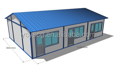 High quality fire rated prefabricated house from China supplier