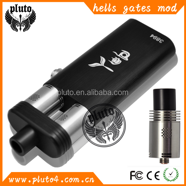 Big Vaporizer E Cigarette Dual Rda Hells Gate Vape Box Mod Factory Price