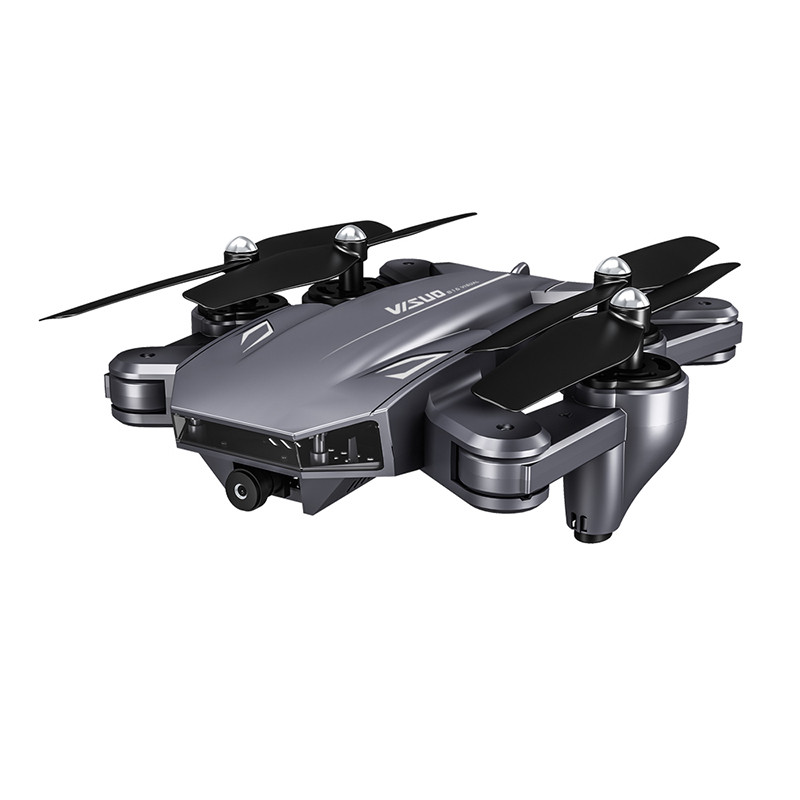 VISUO XS816 4kDrone FPV WiFi Remote Control Foldable RC Quadcopter Dual Camera 2MP+0.3MP Optical Flow Headless Mode Selfie Drone