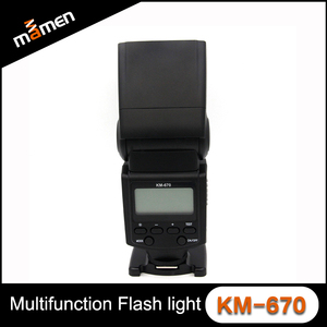 Manufacture large and SLR camera flash light wireless speedlight for Canon 60D/70D