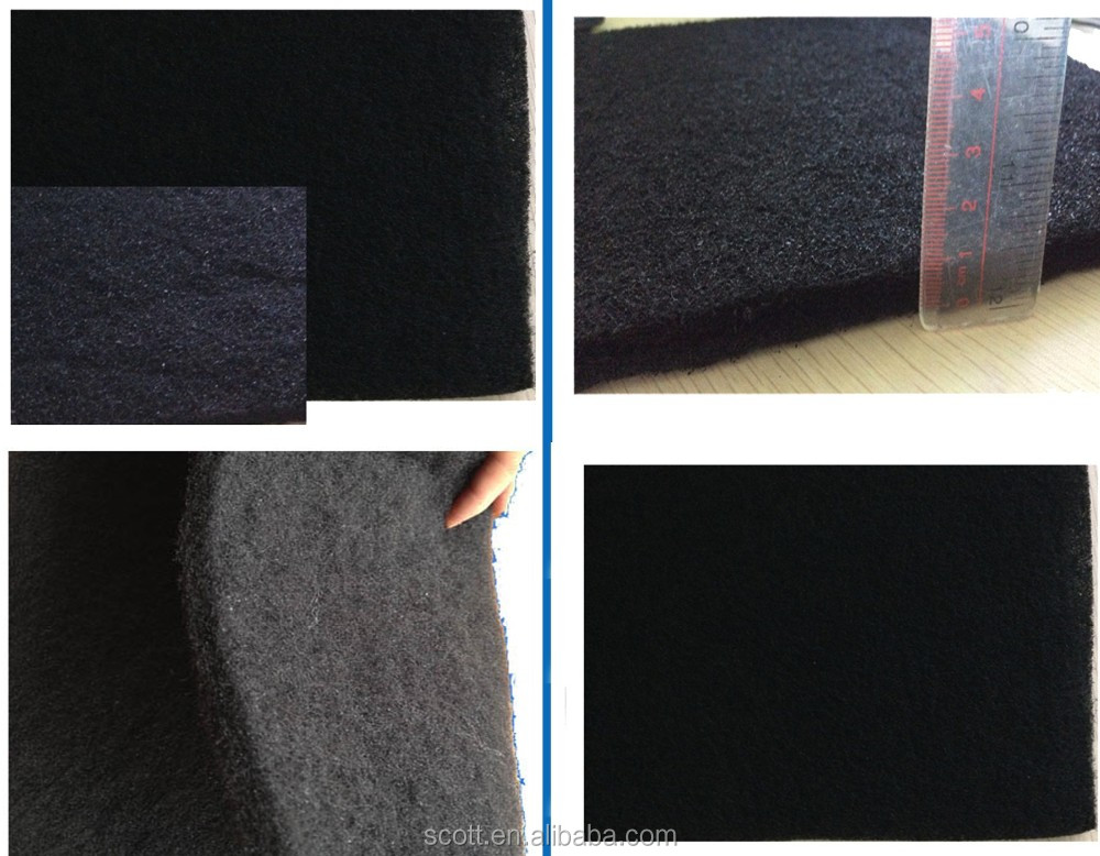 Nonwoven Activated Carbon Filter Sheet